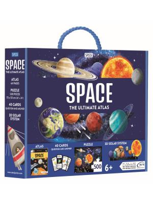 Space. The Ultimate Atlas. Ediz. a colori. Con puzzle