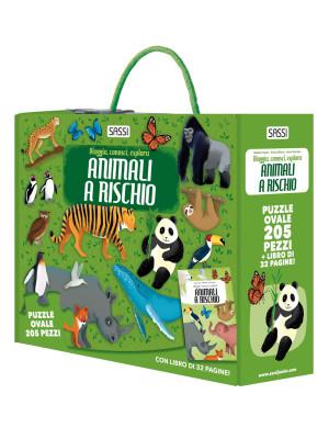 Viaggia, conosci, esplora. Animali a rischio. Ediz. a colori. Con puzzle