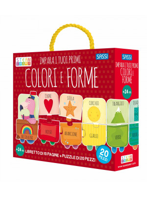 Impara i tuoi primi colori e forme. Ediz. a colori. Con puzzle