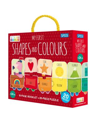 My first shapes and colours. Ediz. a colori. Con puzzle