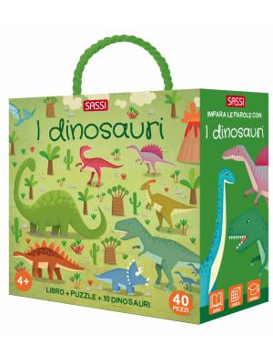 I dinosauri. Q-box. Ediz. a colori. Con puzzle