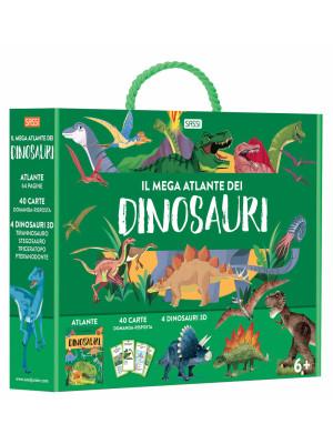 Il mega atlante dei dinosauri. Ediz. a colori. Con puzzle