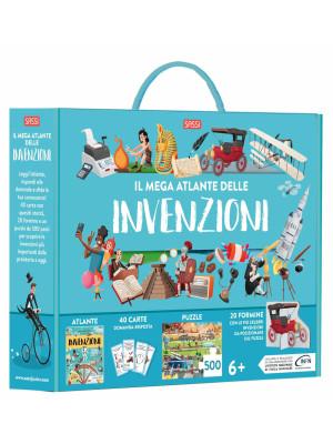 Il mega atlante delle invenzioni. Ediz. a colori. Con puzzle
