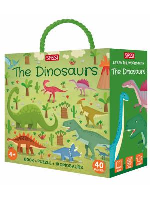 The dinosaurs. Q-box. Ediz. a colori. Con puzzle