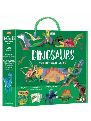 Dinosaurs. The Ultimate Atlas. Ediz. illustrata. Con puzzle