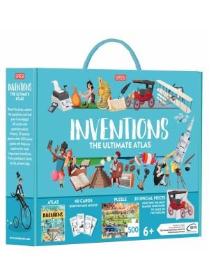 Inventions. The ultimate atlas. Ediz. a colori. Con puzzle