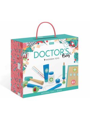 Doctor's bag. Wooden toys. Nuova ediz. Con 9 formine in legno