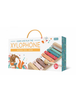 Play and learn with the xylophone. Wooden toys. Nuova ediz. Con xilofono