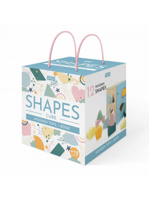 Shapes cube. Wooden toys. Nuova ediz. Con 12 formine in legno