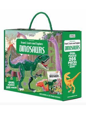 Dinosaurs. Travel, learn and explore. Ediz. a colori. Con puzzle