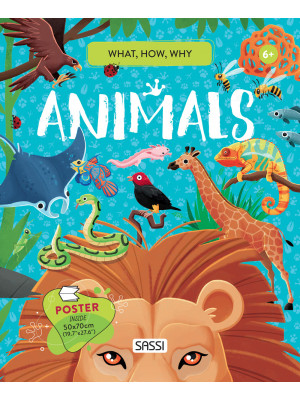 Animals. What, how, why. Con Poster