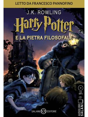 Harry Potter e la pietra filosofale letto da Francesco Pannofino. Audiolibro. CD Audio formato MP3. Vol. 1