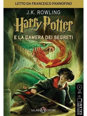 Harry Potter e la camera dei segreti letto da Francesco Pannofino. Audiolibro. CD Audio formato MP3. Vol. 2