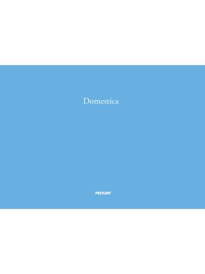 Domestica. Ediz, italiana e inglese. Ediz. illustrata