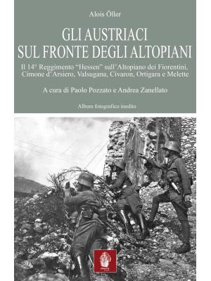Gli austriaci sul fronte degli altopiani. Il 14° Reggimento «Hessen» sull'Altopiano dei Fiorentini, Cimone d'Arsiero, Valsugana, Civaron, Ortigara e Melette