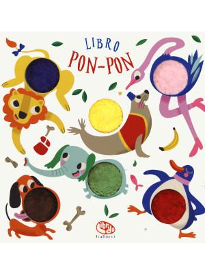 Libro pon-pon animali. Ediz. a colori
