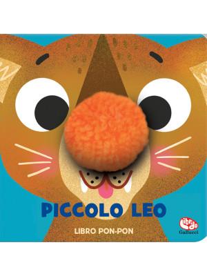 Piccolo Leo. Pon-pon. Libro peluche. Ediz. a colori
