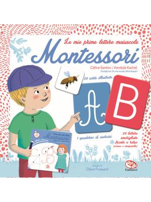 Le mie prime lettere maiuscole Montessori. Ediz. a colori. Con 26 Carte