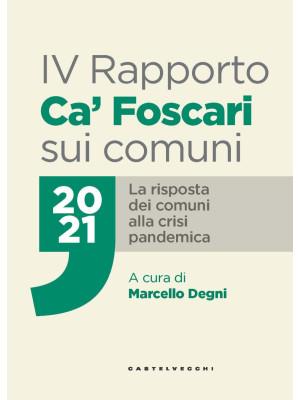 IV Rapporto Ca' Foscari sui comuni 2021. La risposta dei comuni alla crisi pandemica