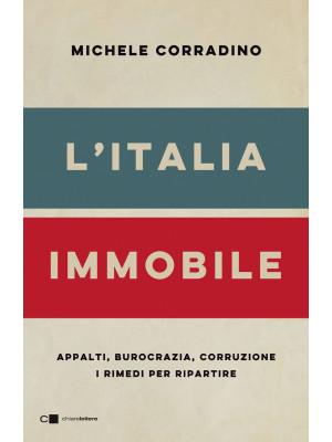L'Italia immobile. Appalti, burocrazia, corruzione. I rimedi per ripartire