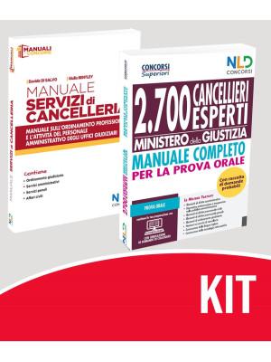 Concorso Ministero Giustizia 2021: kit Manuale Concorso 2700 Cancellieri Esperti + Manuale Servizi Cancelleria