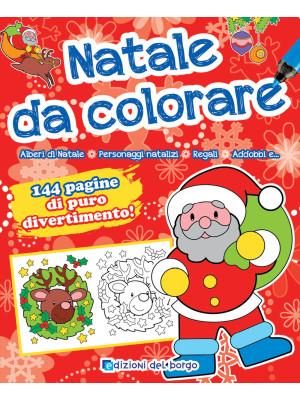 Natale da colorare. Ediz. a colori