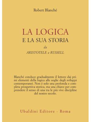 La logica e la sua storia. Da Aristotele a Russell
