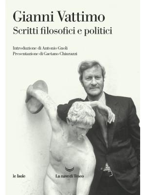 Scritti filosofici e politici