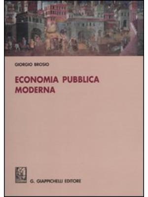 Economia pubblica moderna