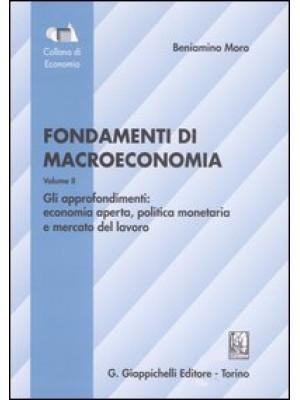 Fondamenti di macroeconomia. Vol. 2: Gli approfondimenti: economia aperta, politica monetaria, mercato del lavoro