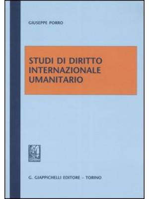 Studi di diritto internazionale umanitario