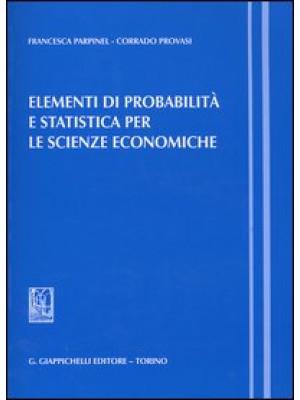 Elementi di probabilità e statistica per le scienze economiche