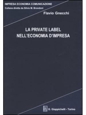 La private label nell'economia d'impresa