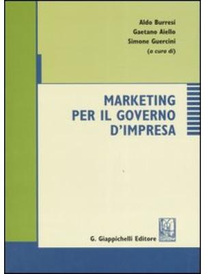 Marketing per il governo d'impresa