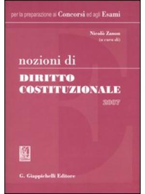 Nozioni di diritto costituzionale 2007