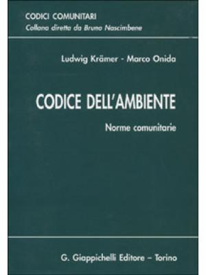 Codice dell'ambiente. Norme comunitarie