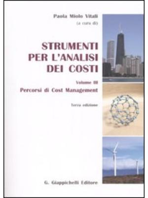 Strumenti per l'analisi dei costi. Vol. 3: Percorsi di cost management