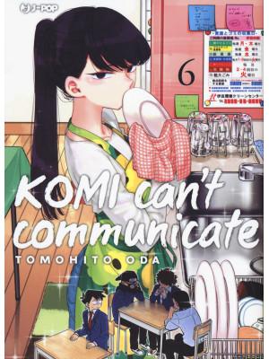 Komi can't communicate. Vol. 6