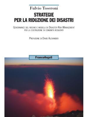 Strategie per la riduzione dei disastri. Governance del rischio e modelli di Disaster Risk Management per la costruzione di comunità resilienti
