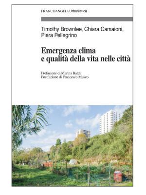 Emergenza clima e qualità della vita nelle città