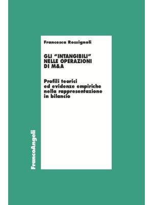 Gli «intangibili» nelle operazioni di M&A. Profili teorici ed evidenze empiriche nella rappresentazione in bilancio