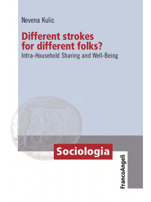 Different strokes for different folks? Intra-Household Sharing and Well-Being