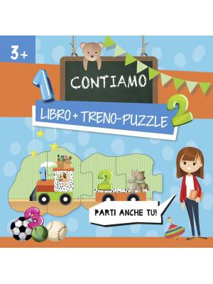 Contiamo. Treno-puzzle. Ediz. a colori. Con puzzle