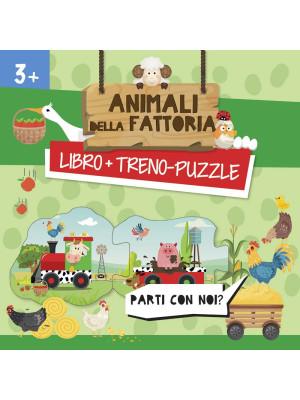 Animali della fattoria. Treno-puzzle. Ediz. a colori. Con puzzle