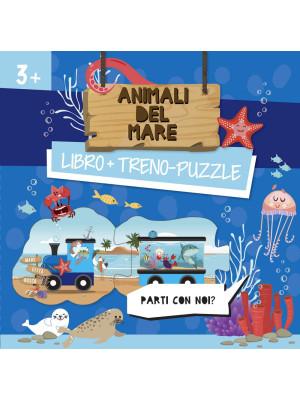 Animali del mare. Treno-puzzle. Ediz. a colori. Con puzzle