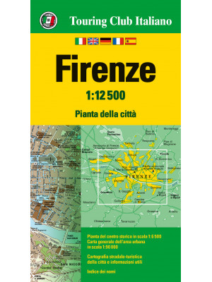 Firenze 1:12.500. Ediz. multilingue