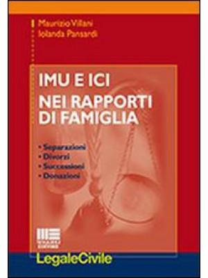 IMU e ICI nei rapporti di famiglia