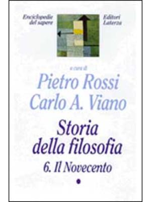 Storia della filosofia. Vol. 6/1: Il Novecento