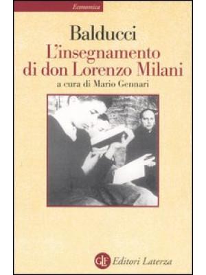 L'insegnamento di don Lorenzo Milani