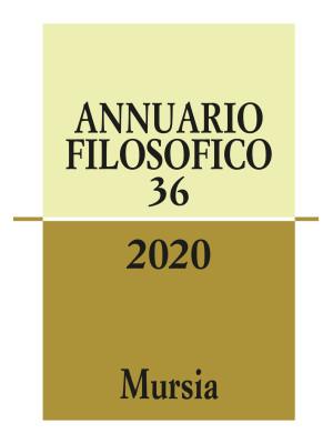 Annuario filosofico (2020). Vol. 36